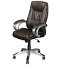 Libra High Back Executive Chair in Brown Colour by Nilkamal