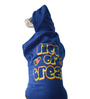 Lick Or Treat Dog Hoodie in Blue (Size 22)