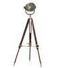 Junco Tripod Lamp in Silver by Bohemiana