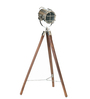 Joel Tripod Lamp in Silver by Bohemiana