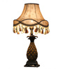 Muse Table Lamp in Beige by Bohemiana