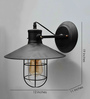 Ophelia Wall Light in Black by Amberville