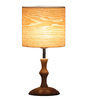 Clarke Table Lamp in Brown by Amberville