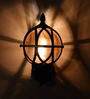 Olga Wall Light in Brown by Amberville