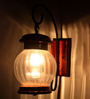 Mineo Wall Light in Transparent by Bohemiana