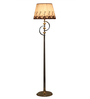 Omarion Floor Lamp in White by Bohemiana