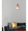 Lime Light Orange and White Glass Wall Mounted Light