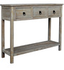 Linda Driftwood Console Table by Asian Arts