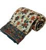 Little India Multicolour Nature & Florals Cotton Single Size Quilt 1 Pc