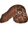 Little India Browns Nature & Florals Cotton Blend Single Size Quilt 1 Pc