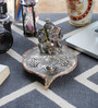 Little India Silver Metal Lord Ganesha Pretty Pooja Idol