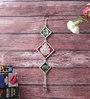 Little India Silver Metal Shri Ganesh Namah Door Hanging