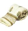 Little India Whites Nature & Florals Cotton Queen Size Quilt 1 Pc