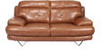 Lloyd Two Seater Sofa in Brown Colour by Home City
