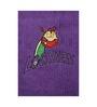 Imagica Lochness Purple Bath Towel