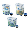 Lock&Lock Economy 3 Pcs Flip Lid Container Set