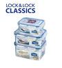 Lock&Lock Economy Transparent Storage Container - Set of 3