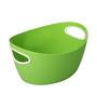 Lock&Lock Plastic Green 8 L Inplus Easy Grip Basket