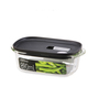 Lock N Lock Black Rectangle 890 ML Steam Oven Container