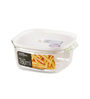 Lock N Lock White Rectangle 760 ML Steam Oven Container