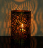 Logam Brass Iron Single Tea Light Holder
