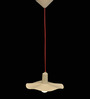 Logam Flatter Cream Hanging Lamp
