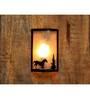 Logam Iron Horse Wall Light