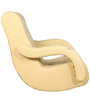 Low Seat Rocking Chair in Ivory Colour by Parin