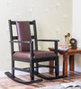Loxton Rocking Chair in Espresso Walnut Finish by Amberville