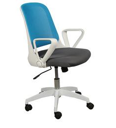 Luke Ergonomic Chair in Blue Colour by HomeTown