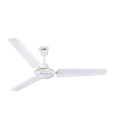 Luminous Rapid 1200mm White Ceiling Fan