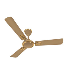 Luminous Krona 1200mm Ceiling Fan - Caramel
