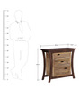 Lucio Chest Of Drawer in Dual Tone Finish by Woodsworth