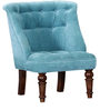 Ludovic Wing Chair in Honey Oak Finish by Amberville
