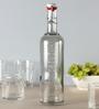 Luigi Bormioli Hydrosommelier Grey Bottle 1000 ML with Hermetic Inox-Cap
