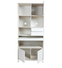 Lumen Study & Bookcase in White and Pine Colour by HomeTown