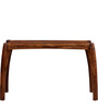 Dvina Console Table in Provincial Teak Finish by Woodsworth