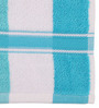 Lushomes Blue Cotton 16 x 24 Hand Towel - Set of 2