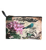 Lushomes Bonjour Digital Printed Polyester Multicolour Multi Utility Pouch