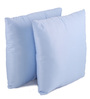 Lushomes Light Blue Polyester 12 x 12 Inch Bright & Fluffy Cushion Insert - Set of 2