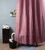 Lushomes Lilac Polyester 82 x 72 Shower Curtain