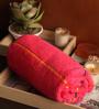 Lushomes Pink Cotton 30 x 60 Bath Towel