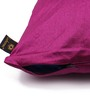Lushomes Pink Polyester 16 x 16 Inch Cushion Covers - Set of 10