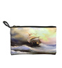 Lushomes Ship Digital Printed Polyester Multicolour Multi Utility Pouch