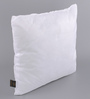 Lushomes White Polyester 12 x 12 Inch Cushion Insert - Set of 2