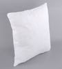 Lushomes White Polyester 16 x 16 Inch Cushion Insert - Set of 2
