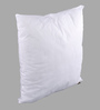Lushomes White Polyester 18 x 18 Inch Cushion Insert - Set of 2