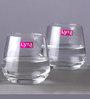 Lyra Lal Dof 345 Ml Whisky Glasses - Set of 6