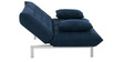 Madison Queen Size Sofa Bed in Dark Blue Colour by Furny