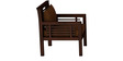 Madison Teak Wood Sofa Set (3+1+1) in Mahogany Finish by CasaTeak